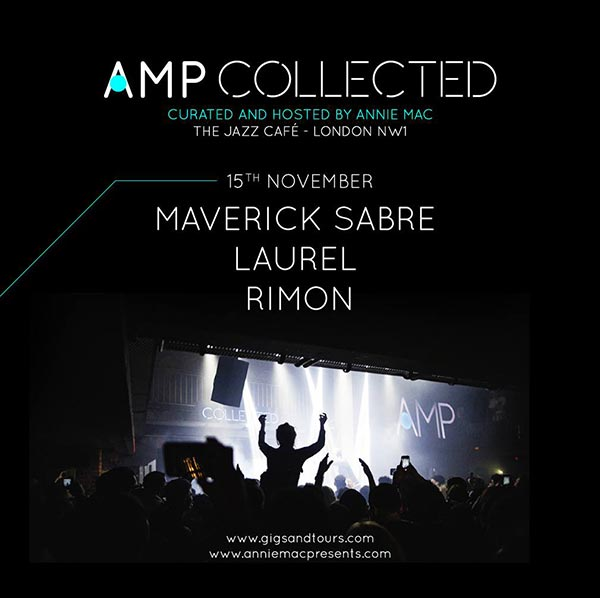 AMP Collected at Jazz Cafe on Thu 15th November 2018 Flyer