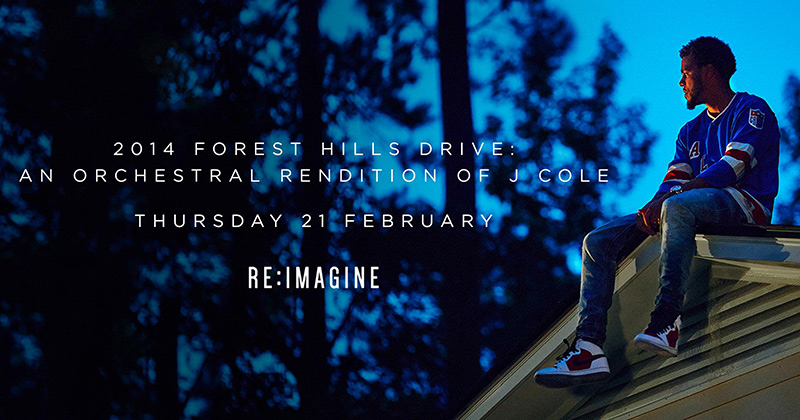 J.Cole - An Orchestral Rendition at XOYO on Thu 21st February 2019 Flyer