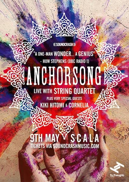 Anchorsong at Scala on Thu 9th May 2019 Flyer