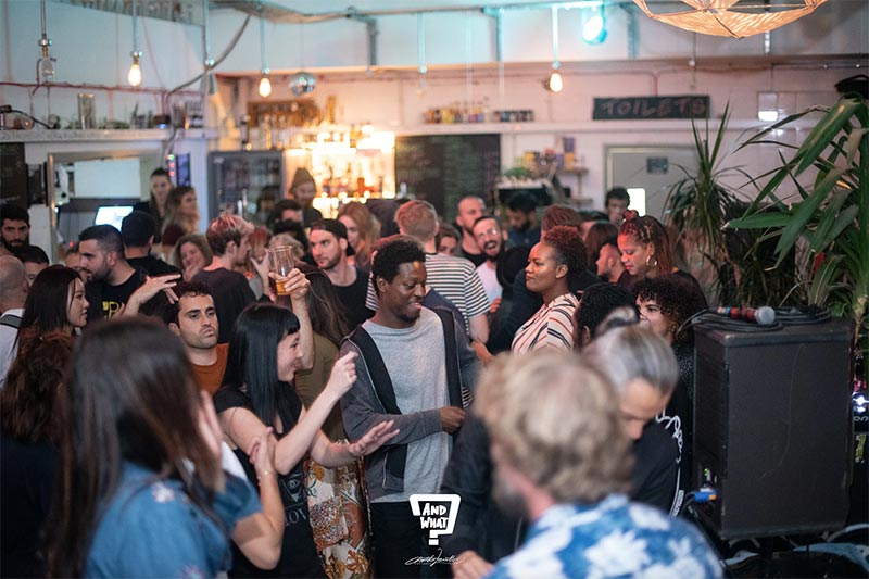 And What? - Spectrum at Grow Hackney on Sat 19th October 2019 Flyer