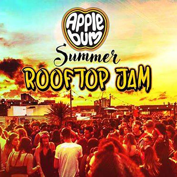 Applebum Summer Rooftop Jam at Prince of Wales on Sat 19th May 2018 Flyer