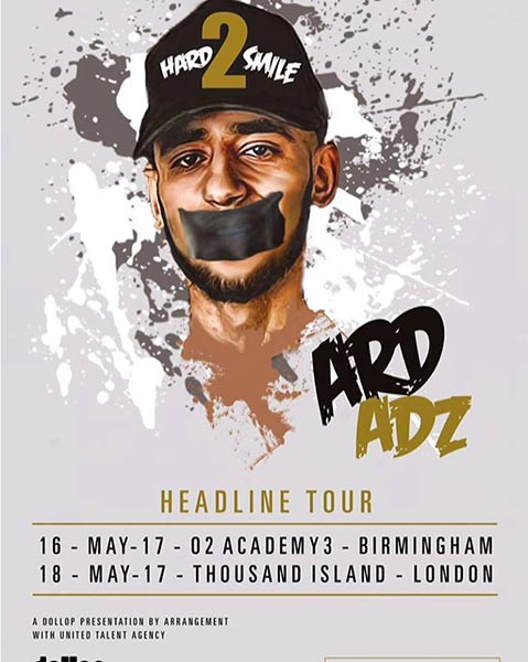 Ard Adz at Thousand Island on Fri 19th May 2017 Flyer