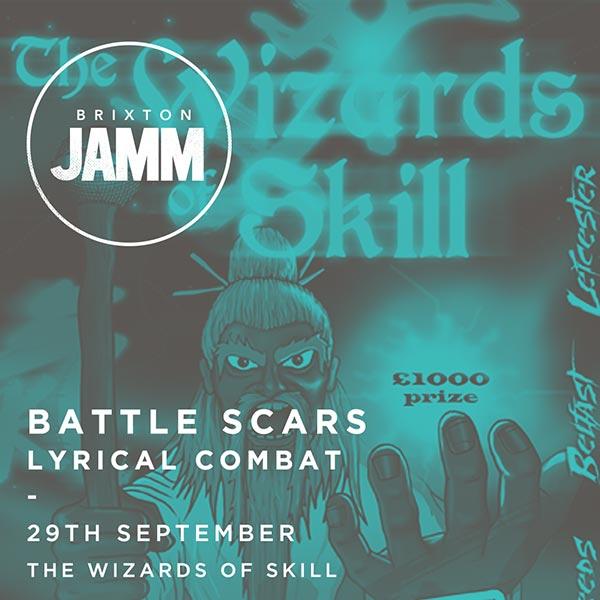 Battle Scars at The Forum on Thursday 29th September 2016 Flyer