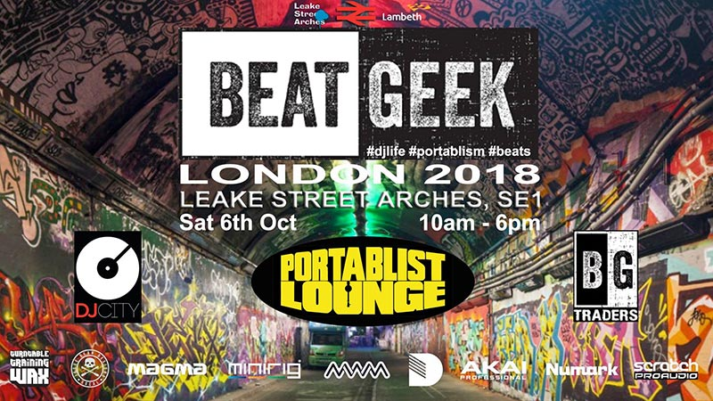 Beatgeek 2018 at Aures London on Saturday 6th October 2018 Flyer