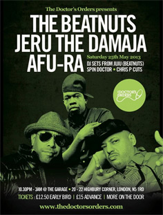 Beatnuts Jeru The Damaja Afu-Ra