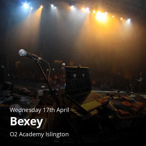 Bexey at Islington Academy on Wed 17th April 2019 Flyer