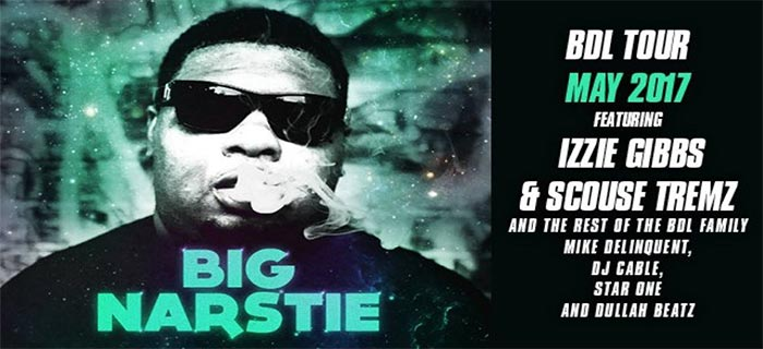 Big Narstie at XOYO on Wed 3rd May 2017 Flyer