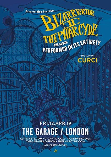 Bizarre Ride II at The Garage on Fri 12th April 2019 Flyer