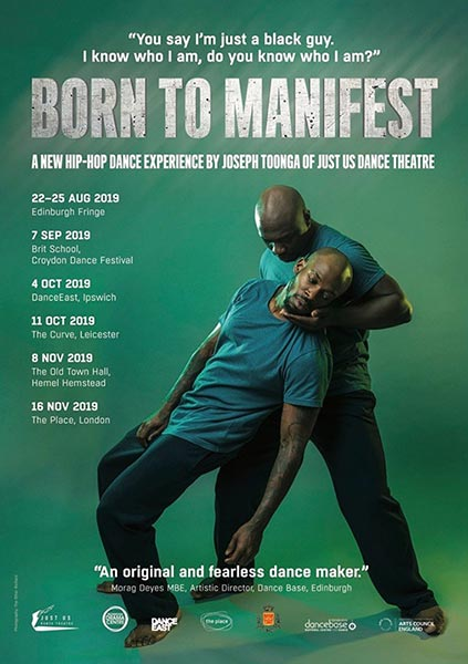 Born to Manifest at The Place on Sat 16th November 2019 Flyer