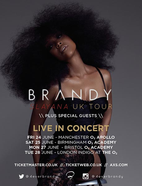 Brandy at KOKO on Tuesday 28th June 2016 Flyer