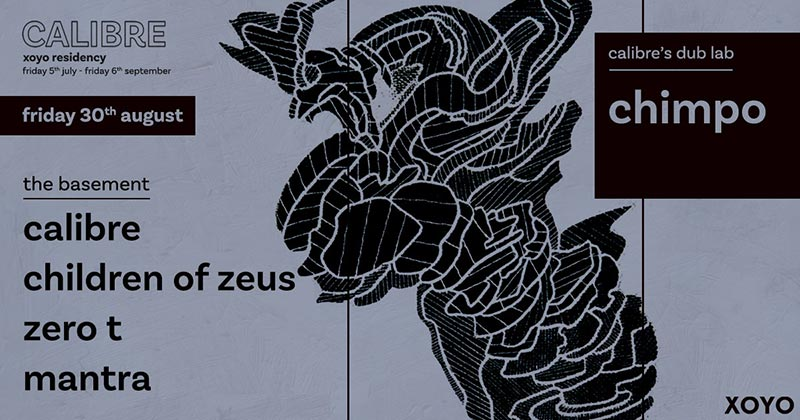 Children of Zeus at XOYO on Fri 30th August 2019 Flyer