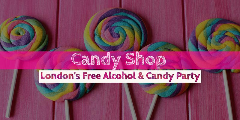 Candy Shop at The Macbeth on Fri 9th November 2018 Flyer