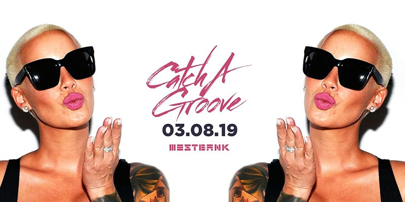 Catch a Groove at Westbank on Sat 3rd August 2019 Flyer