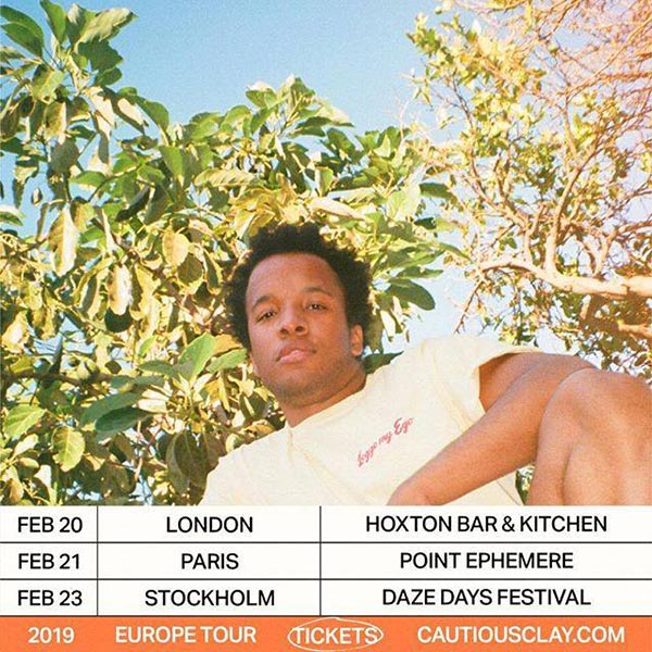 Cautious Clay  at Hoxton Square Bar & Kitchen on Wed 20th February 2019 Flyer