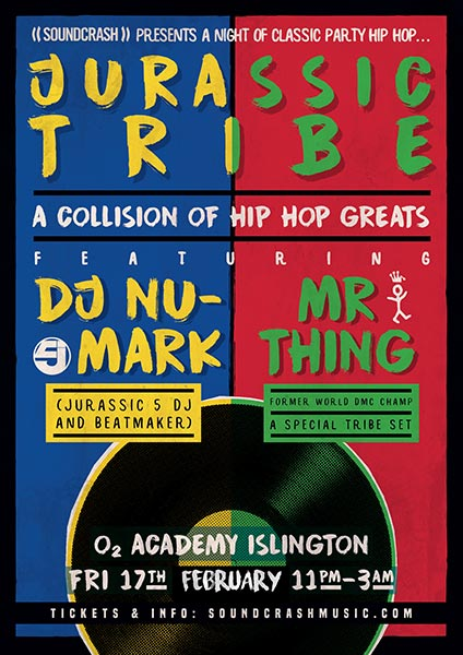 DJ Nu-Mark + Mr Thing at Islington Assembly Hall on Friday 17th February 2017 Flyer