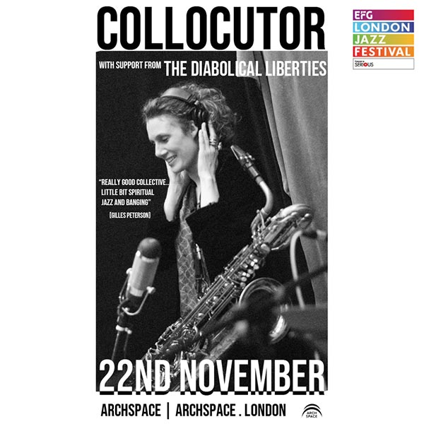 Collocutor at Archspace on Thursday 22nd November 2018 Flyer