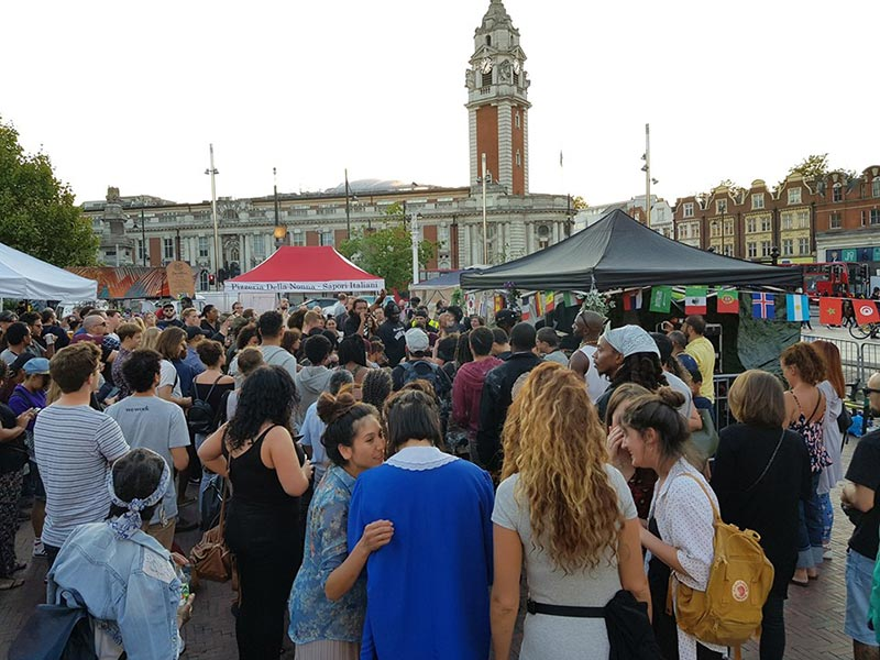 Congregate Brixton Festival at Windrush Square on Sat 10th August 2019 Flyer