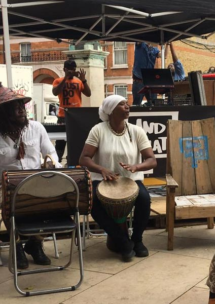 Congregate Brixton Festival at Windrush Square on Saturday 1st September 2018 Flyer