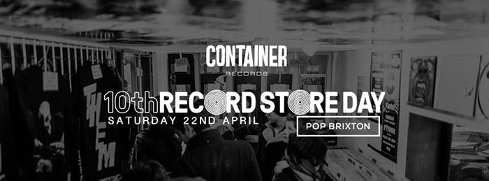 Record Store Day 2017 at Pop Brixton on Sat 22nd April 2017 Flyer