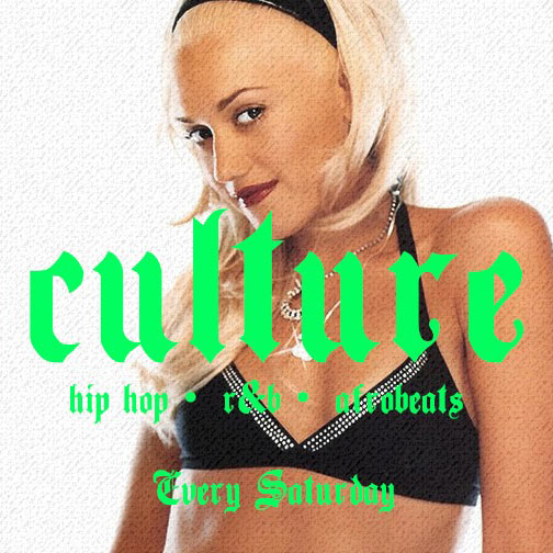 Culture x GCDJ at Prince of Peckham on Sat 21st April 2018 Flyer