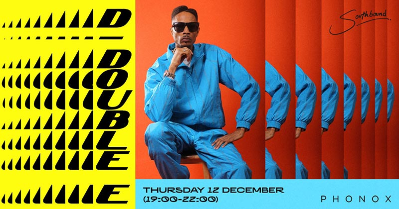 D Double E at Phonox on Thu 12th December 2019 Flyer