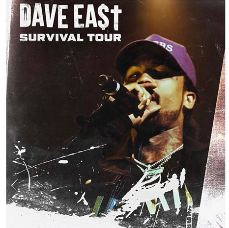 Dave East at Electric Brixton on Tue 3rd December 2019 Flyer