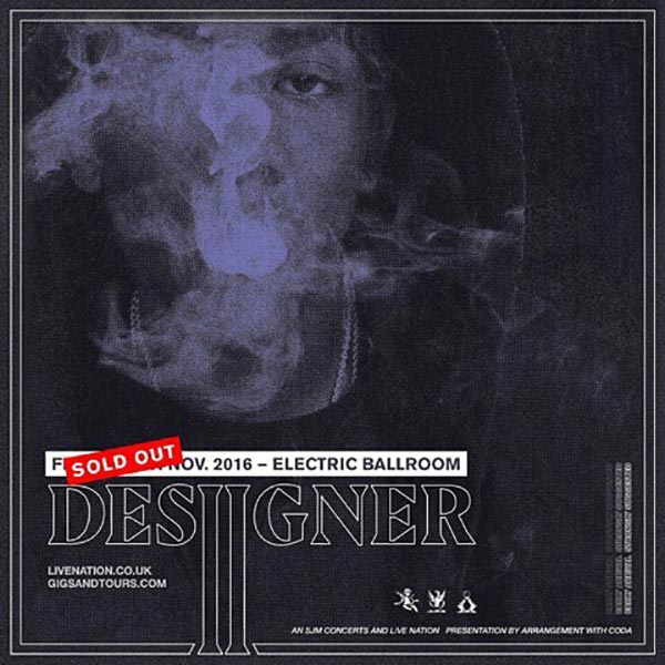 Desiigner at The Forum on Friday 7th October 2016 Flyer