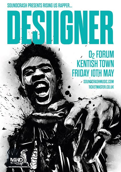 Desiigner at The Forum on Fri 10th May 2019 Flyer