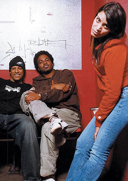 Digable Planets at The Forum on Wednesday 23rd November 2016 Flyer