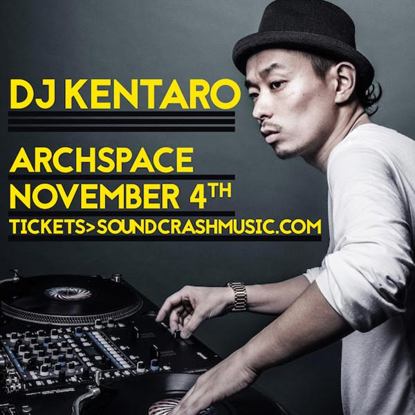 DJ Kentaro at Finsbury Park on Saturday 4th November 2017 Flyer
