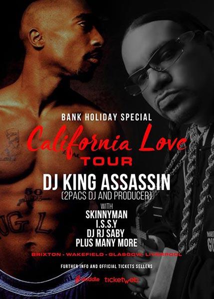 DJ King Assassin at Brixton Jamm on Thu 23rd August 2018 Flyer