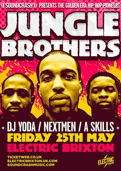 DJ Yoda & Friends at Electric Brixton on Friday 25th May 2018 Flyer