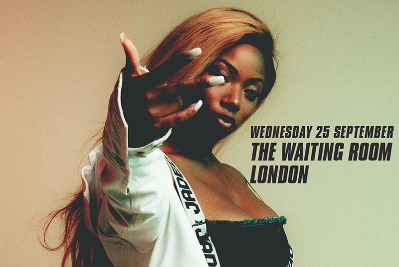 Dolapo at The Waiting Room on Wed 25th September 2019 Flyer