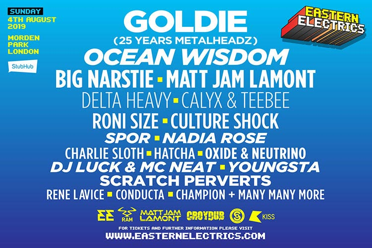 Eastern Electrics Sunday at Morden Park on Sun 4th August 2019 Flyer