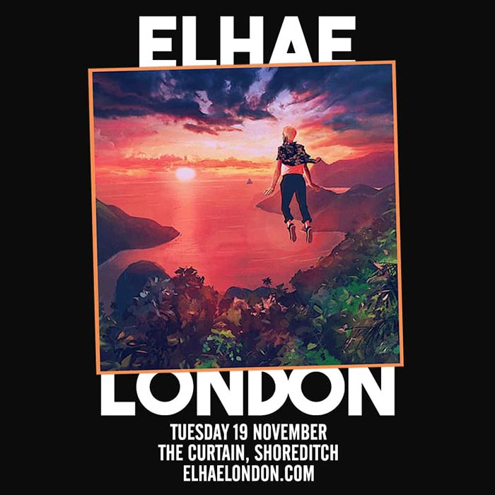 Elhae at The Curtain on Tuesday 19th November 2019 Flyer