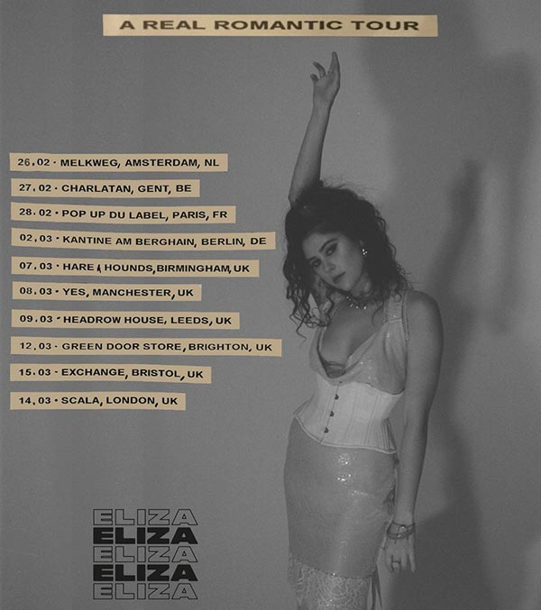 Eliza at Scala on Thu 14th March 2019 Flyer