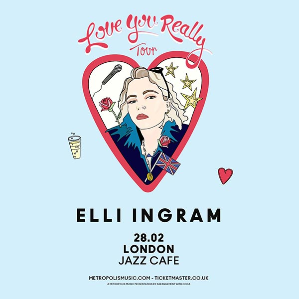 Elli Ingram at Jazz Cafe on Thu 1st February 2018 Flyer