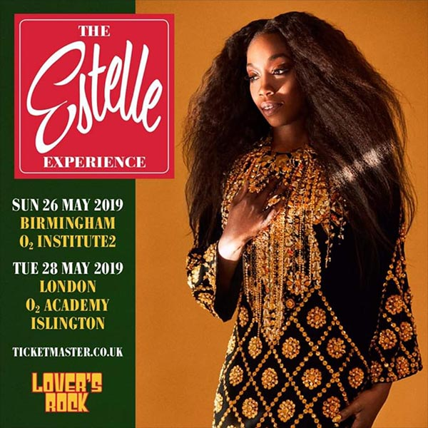 Estelle at Islington Academy on Tue 28th May 2019 Flyer