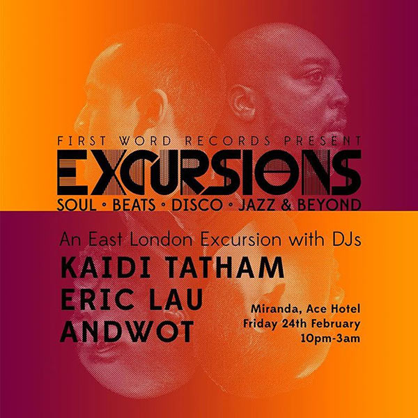 Excursions at Brixton Academy on Friday 24th February 2017 Flyer