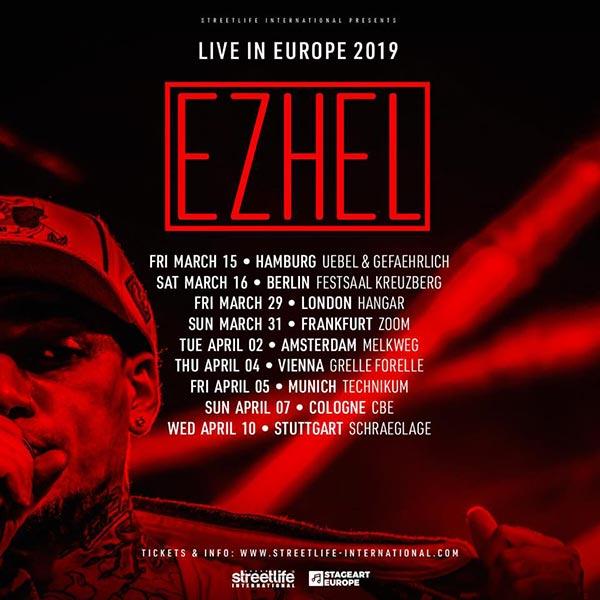 Ezhel at Hangar on Fri 29th March 2019 Flyer