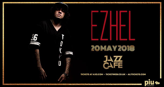 Ezhel at Jazz Cafe on Sun 20th May 2018 Flyer