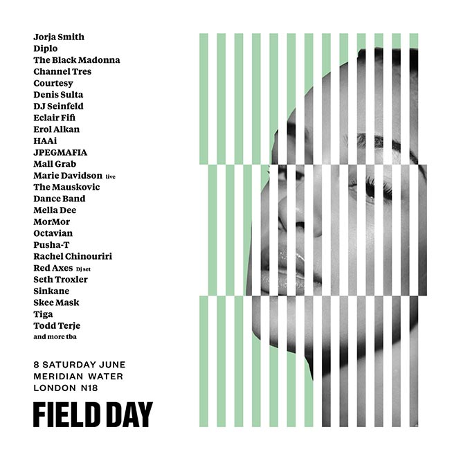 Field Day Saturday at Meridian Water on Saturday 8th June 2019 Flyer