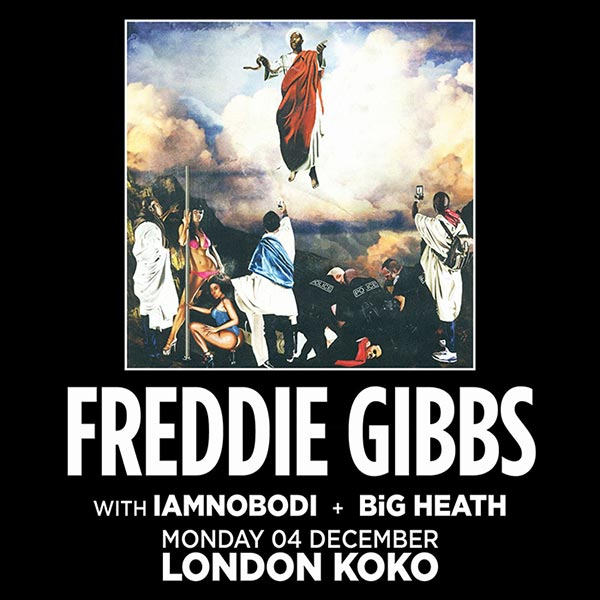Freddie Gibbs at Finsbury Park on Monday 4th December 2017 Flyer