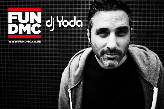 FUN DMC w/ DJ Yoda at Hoxton Square Bar & Kitchen on Sun 18th June 2017 Flyer