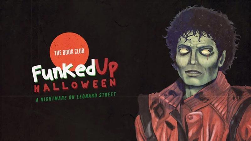 Funkedup Halloween at Book Club on Thu 1st November 2018 Flyer
