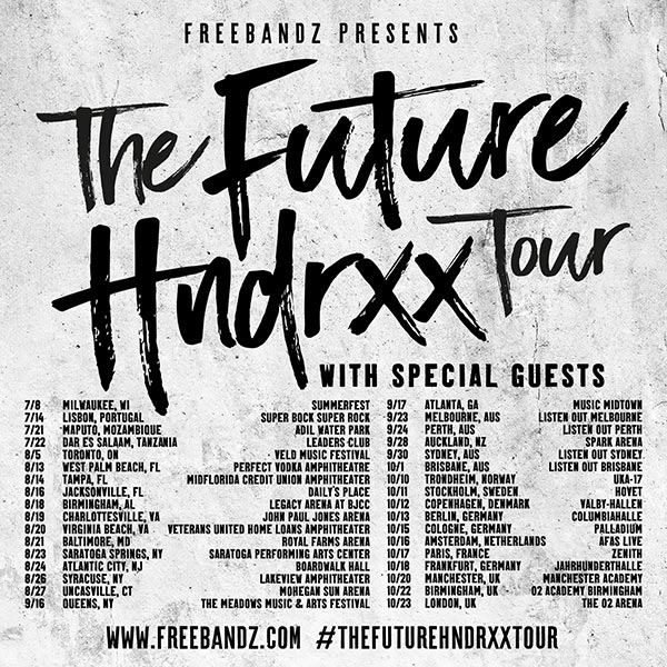 Future at Finsbury Park on Monday 23rd October 2017 Flyer
