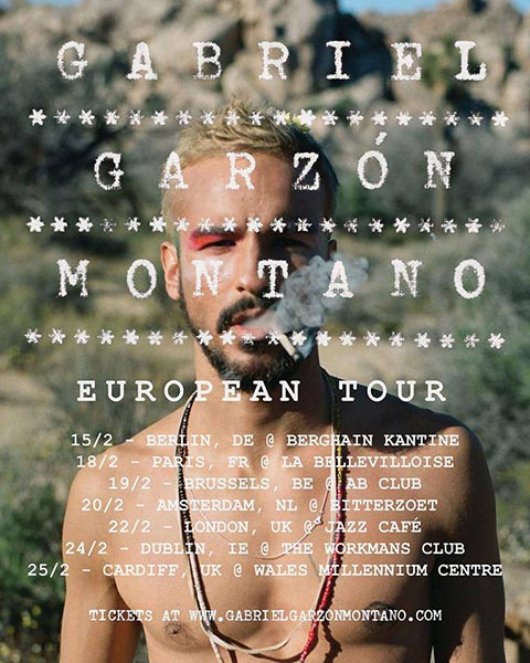 Gabriel Garzon - Montano at Islington Assembly Hall on Wednesday 22nd February 2017 Flyer