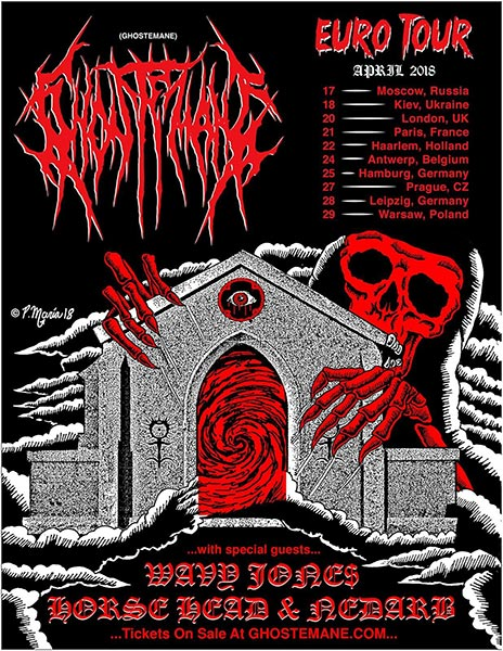 Ghostemane at The Dome on Fri 20th April 2018 Flyer