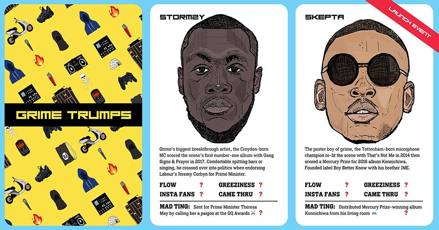 Grime Trumps at The Ritzy on Sun 8th December 2019 Flyer