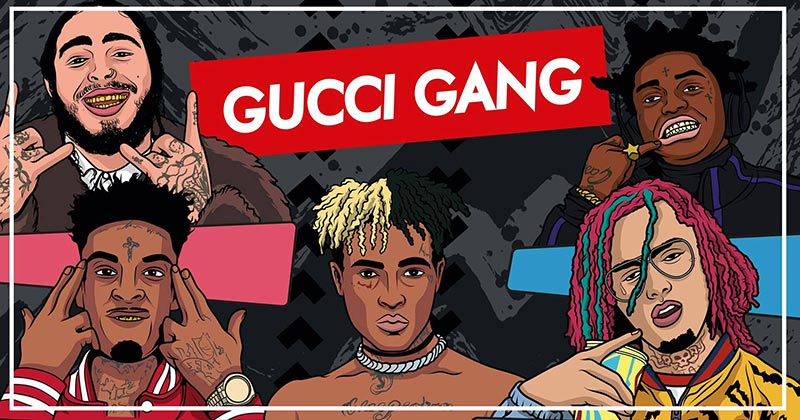 Gucci Gang at Concrete on Sat 6th April 2019 Flyer